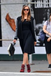 Irina Shayk - Pphotoshoot in the West Village in New York City - June 2014