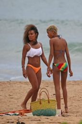 Jada Pinkett Smith Bikini Candids - Hawaii, June 2014