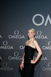 Jaime King at OMEGA Speedmaster Dark Side Of The Moon Launch