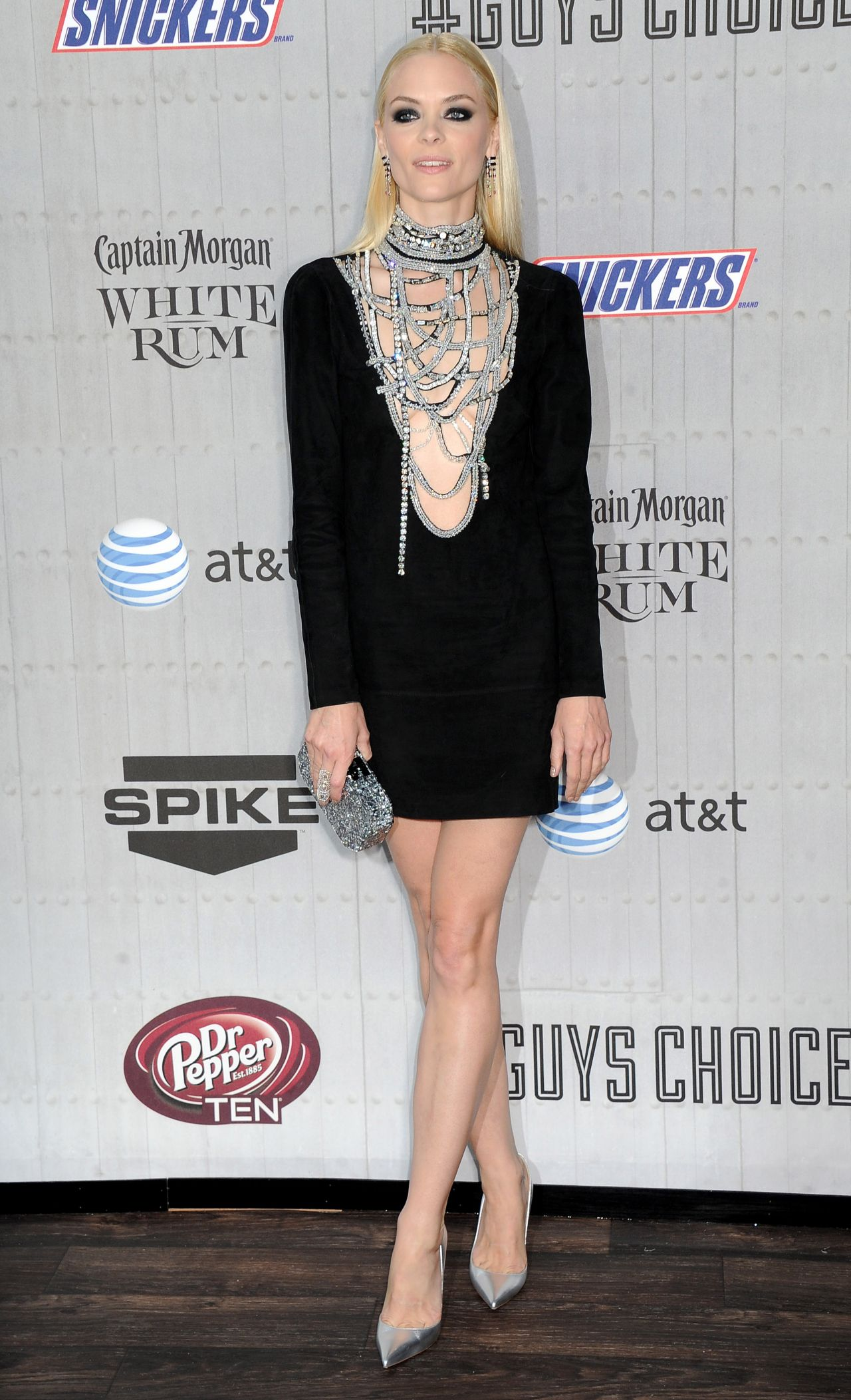 Jaime King In Emilio Pucci Short Dress 2014 Spike Tv S