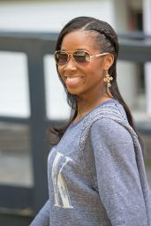 Jamelia - ITV Studios - June 2014