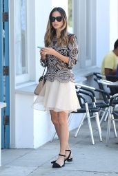 Jamie Chung Casual Style - Out in West Hollywood - June 2014