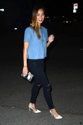 Jamie Chung Night Out Style - at Crossroads in West Hollywood - June 2014
