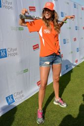 Jana Kramer - City of Hope Celebrity Softball Game at CMA Festival in Nashville - June 2014