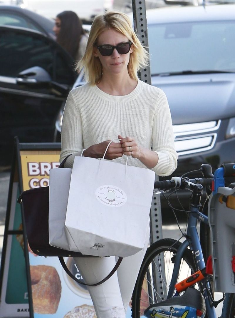 January Jones in Jeans - Out in Los Angeles - June 2014