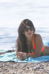 Jasmin Walia at Beach & Pool Bikini Party Marbella in Spain - June 2014