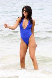 Jasmin Walia in a Bikini - Santa Eulalia Beach - Ibiza, June 2014