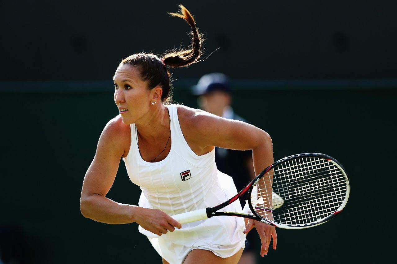 Jelena Jankovic Wimbledon Tennis Championships 2014
