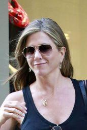 Jennifer Aniston – Leaving Barneys in New York City - June 2014