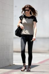 Jennifer Carpenter Casual Style - out in Beverly Hills - June 2014