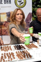 Jennifer Lopez at Healthy Childhood Launch Event at the Montefiore Medical Center in New York City
