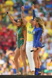 Jennifer Lopez Performs at FIFA World Cup 2014 Opening Ceremony (Part II)