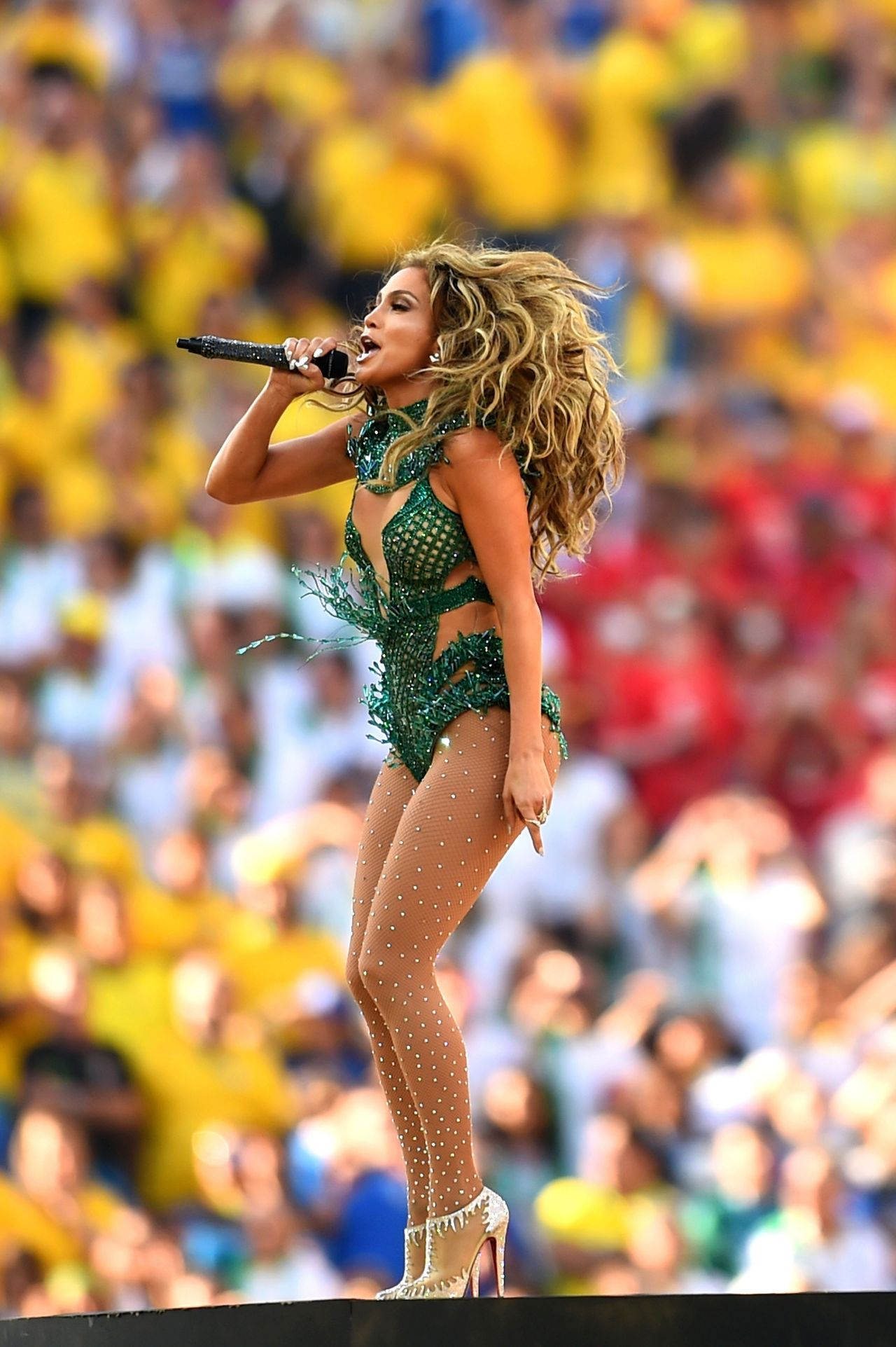 Jennifer Lopez Performs at FIFA World Cup 2014 Opening