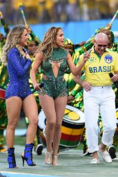 Jennifer Lopez Performs at FIFA World Cup 2014 Opening Ceremony