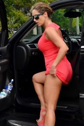 Jennifer Nicole Lee - Out in Miami - June 2014