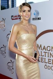 Jessica Alba - 2014 Magnum Golden Butterfly Awards in Istanbul