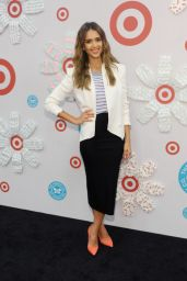 Jessica Alba Celebrates Honest Company at Target Launch - Westwood, June 2014