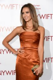 Jessica Alba in Vivienne Westwood Dress - 2014 NY Women In Film & TV