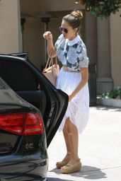 Jessica Alba Out For Lunch In Beverly Hills, June 2014