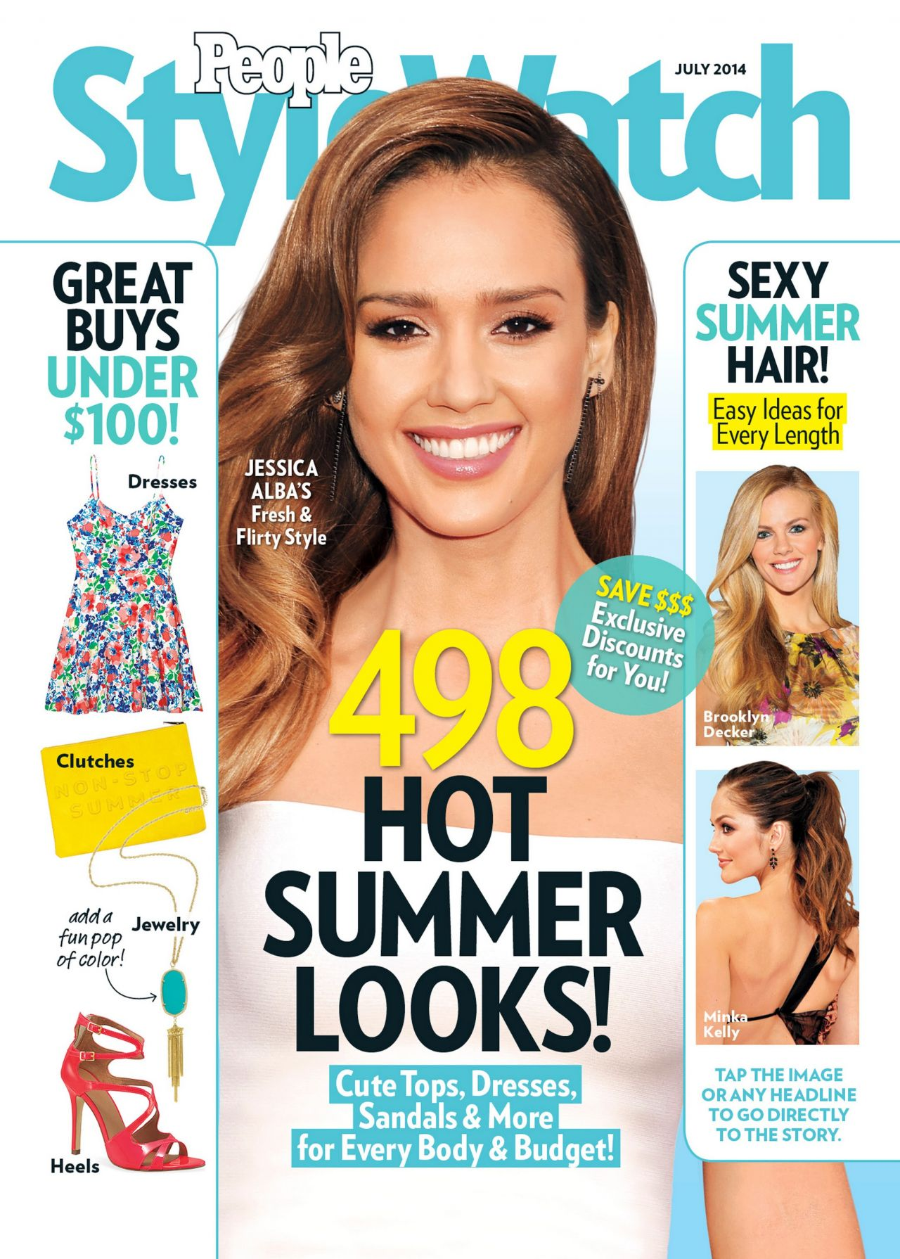 Jessica Alba - People StyleWatch Magazine - July 2014 Cover