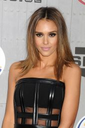 Jessica Alba Wearing David Koma Dress – 2014 Spike TV's Guys Choice Awards