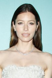 Jessica Biel in Paris - Tiffany & Co. Store Launch - June 2014