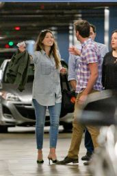 Jessica Biel - Out in Century City - June 2014