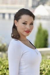 Jessica Parker Kennedy at Black Sails Photocall - 2014 Monte Carlo TV Festival in Monaco