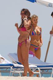 Joanna Krupa Bikini Candids - Miami - June 2014