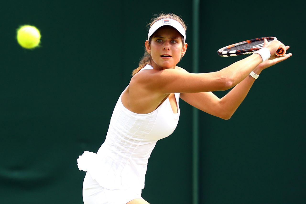 Julia Goerges – Wimbledon Tennis Championships 2014 – 1st Round