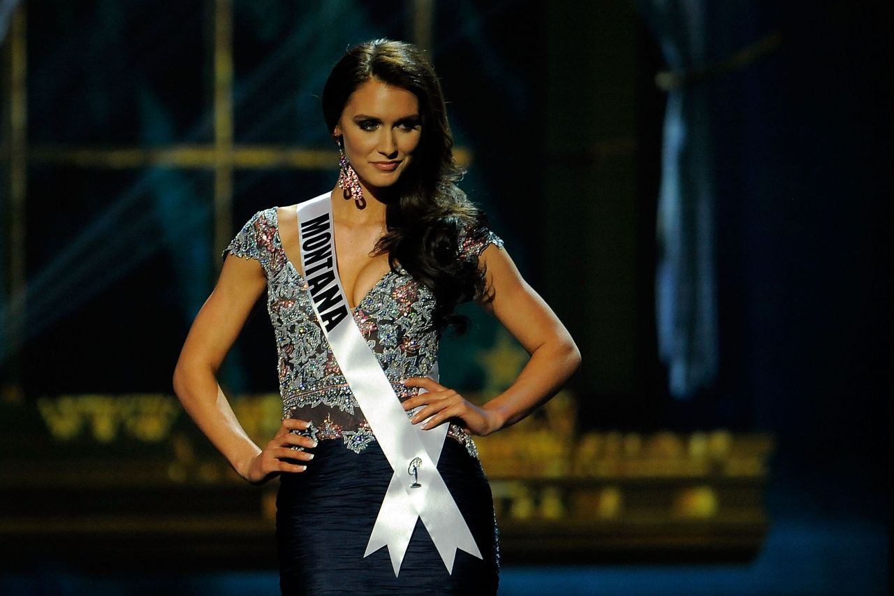 Kadie Latimer (Montana) - Miss USA Preliminary Competition - June 2014