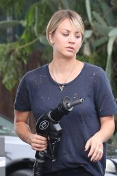 Kaley Cuoco in Jeans - Out in LA - June 2014