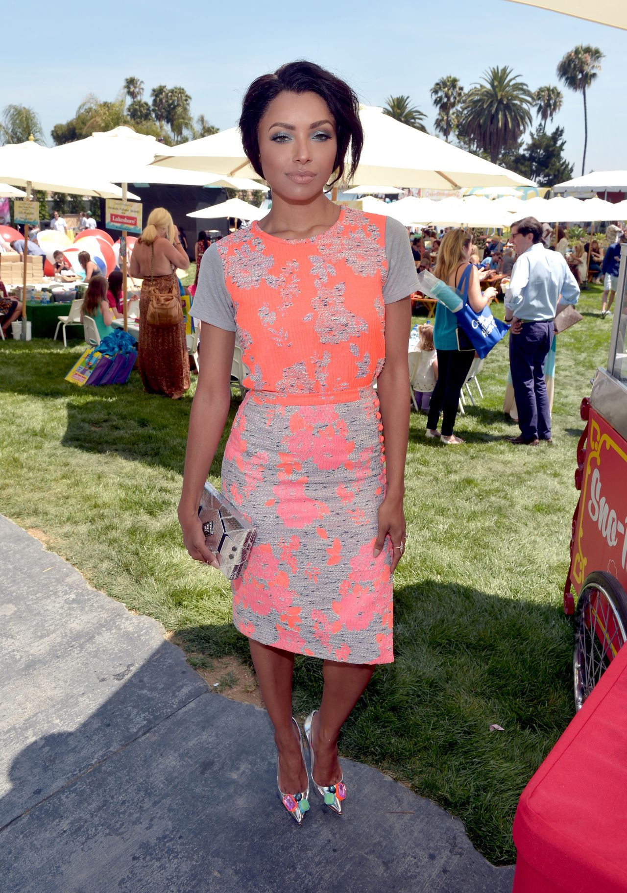 Kat Graham at Empathy Rocks A Spring Into Summer Bash Fundraiser in Beverly Hills - June 2014