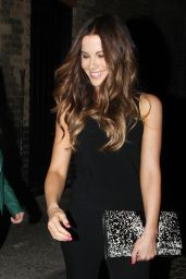 Kate Beckinsale Night Out Style - Leaving the Chiltern Firehouse in London - June 2014