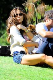 Kate Beckinsale Shows Off Long Legs - at a park in Brentwood - June 2014
