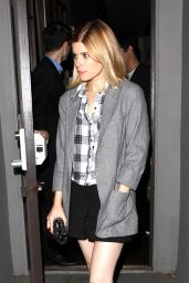 Kate Mara Night Out Style - Leaving Crossroads in West Hollywood - June 2014