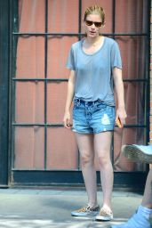 Kate Mara - Out in NYC - June 2014