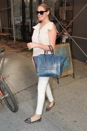 Kate Upton - Leaves Milk Studios in New York City - June 2014
