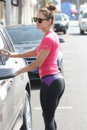 Katharine McPhee in Tights - Out in West Hollywood - June 2014