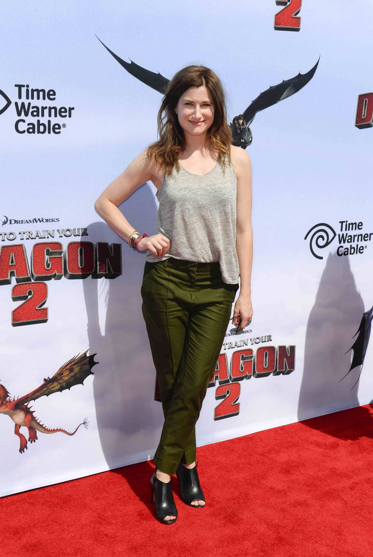 Kathryn Hahn at 'How To Train Your Dragon 2′ Premiere in Los Angeles