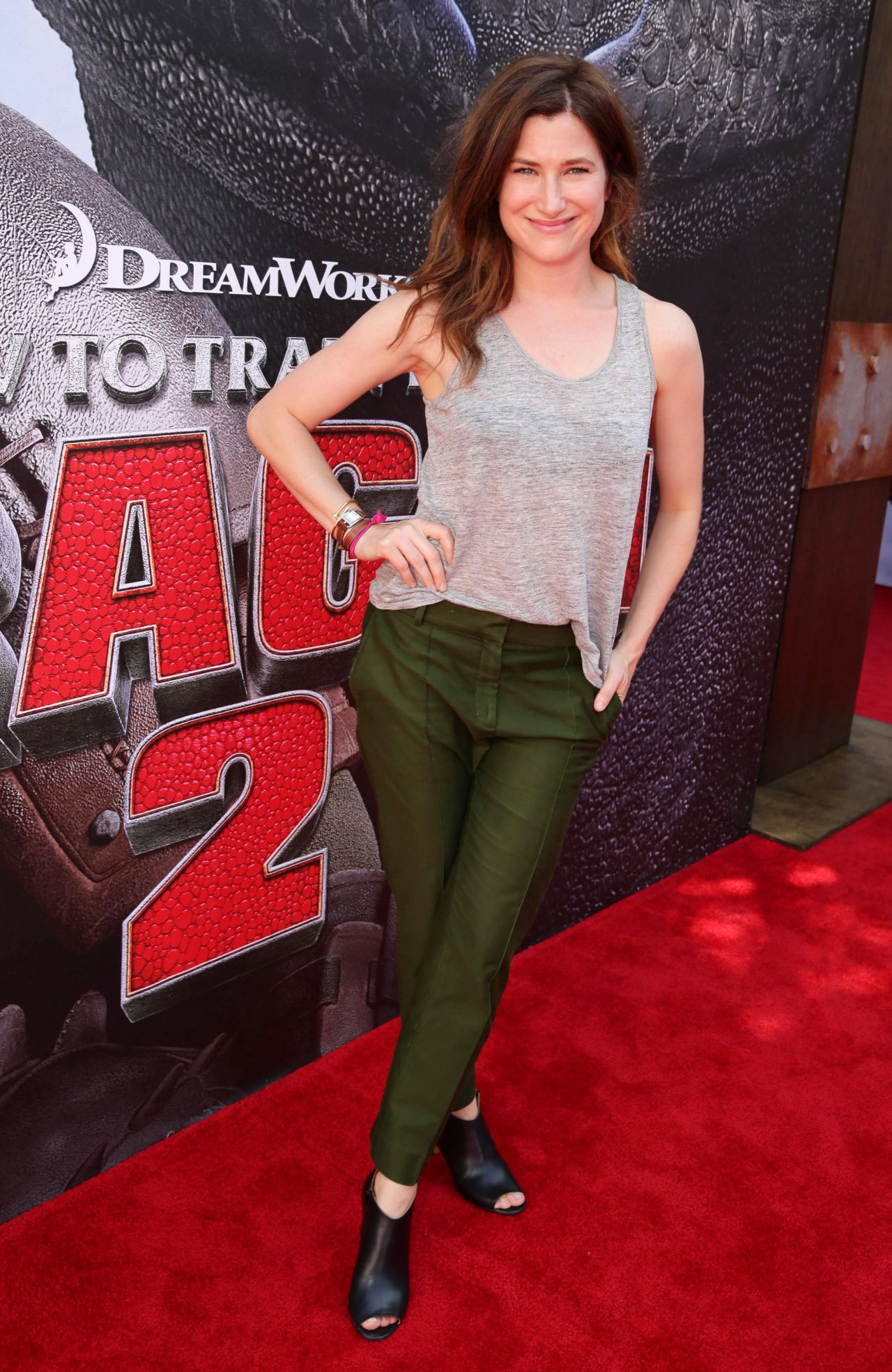 Kathryn Hahn at 'How To Train Your Dragon 2′ Premiere in ...