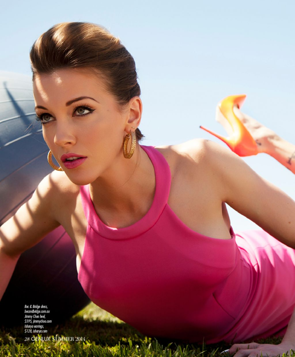 Katie Cassidy - Genlux Magazine Summer 2014 Issue