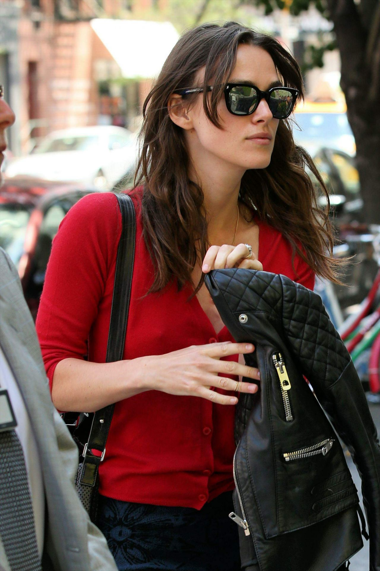 Keira Knightley Arrives at the Crosby Hotel in New York City - June 2014