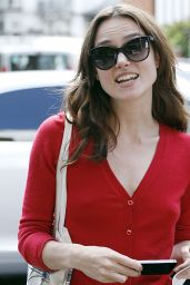 Keira Knightley Casual Style - Out in London - June 2014