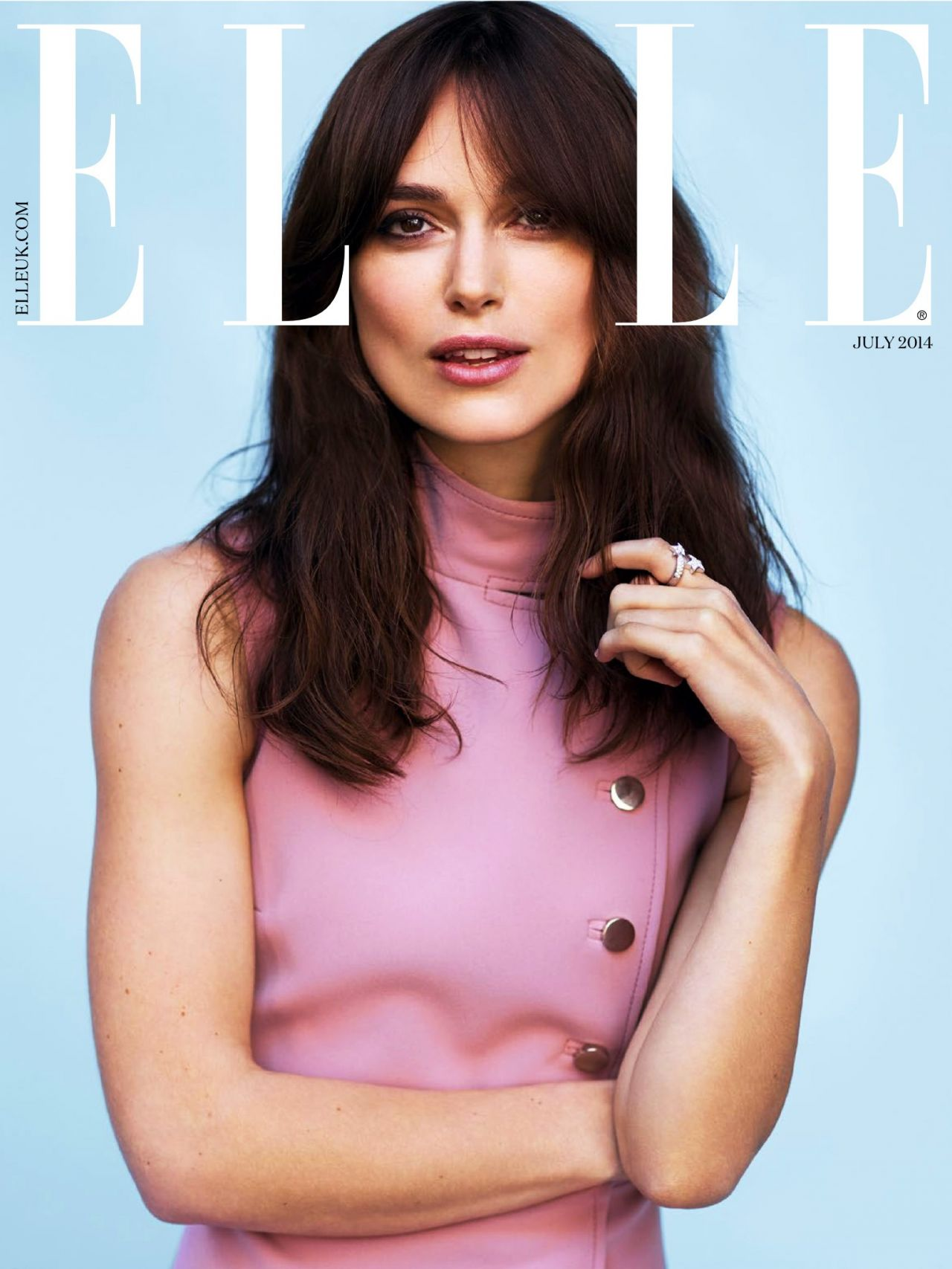 Keira Knightley - Elle Magazine (UK) July 2014 Issue