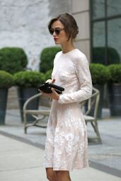 Keira Knightley - Leaving Crosby Hotel on Her Way to NBC Studios - June 2014