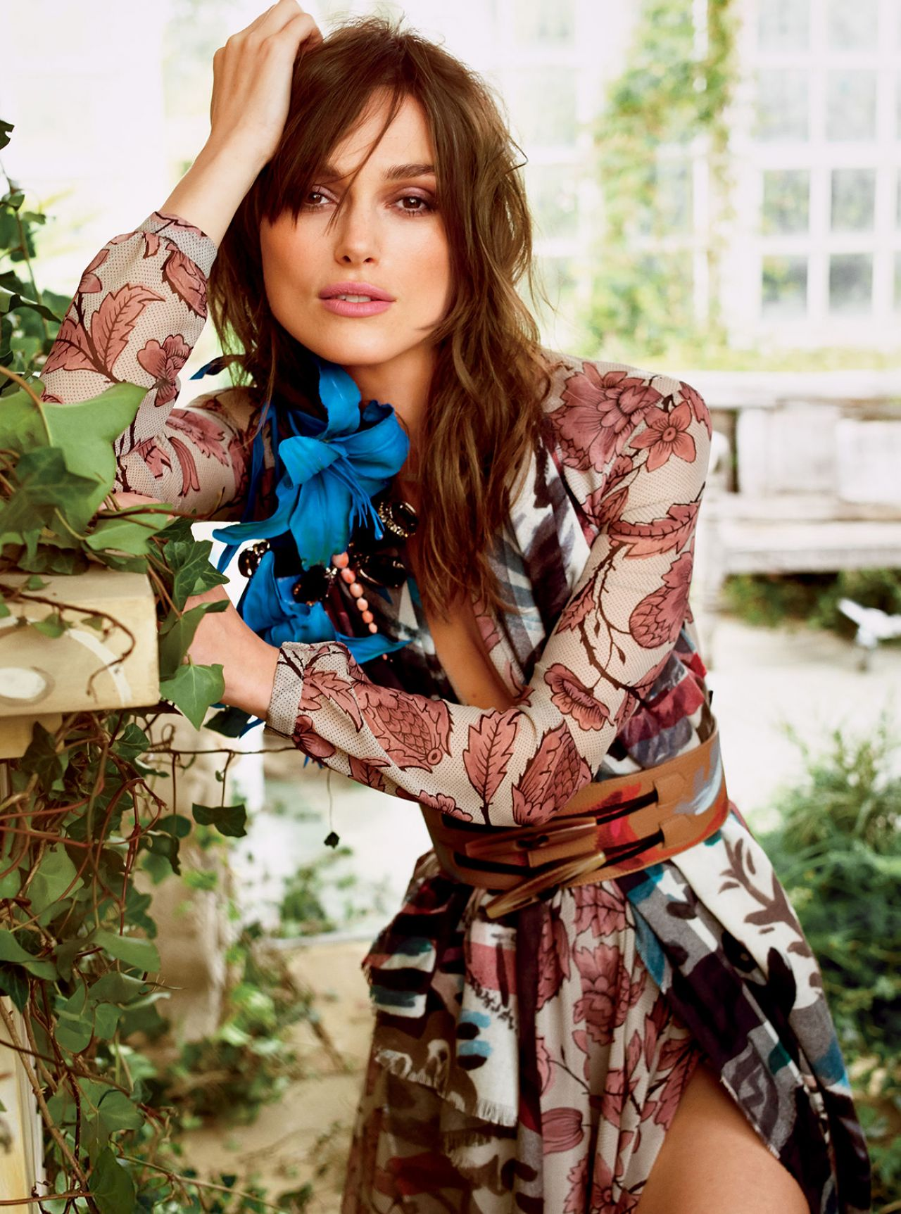 Keira Knightley - Tom Munro Photoshoot for Glamour Magazine July 2014 Issue