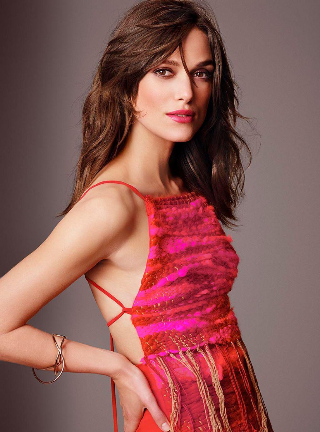 Keira Knightley Tom Munro Photoshoot For Glamour
