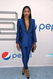 Keke Palmer in  Antonio Berard Suit - Debra Lee