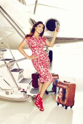Kelly Brook Photoshoot for Selfie Suitcases (2014)